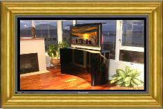 Click for different views of e-Home Entertainment Center